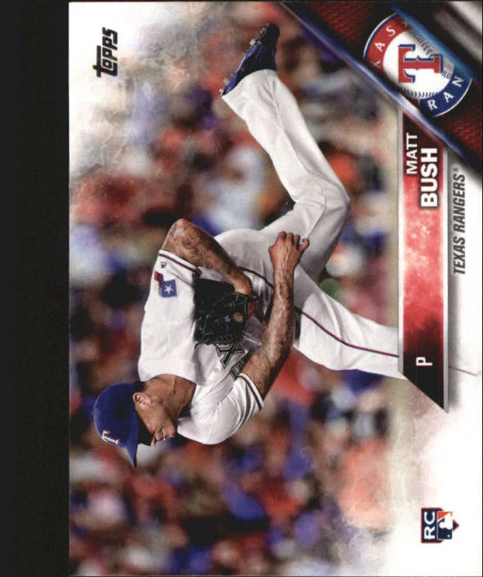 2016 Topps Update US235 Matt Bush (RC)