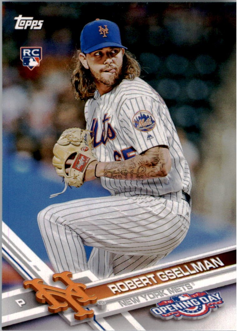 2017 Topps Opening Day 145 Robert Gsellman RC