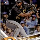 2017 Topps Opening Day 57 Josh Bell RC
