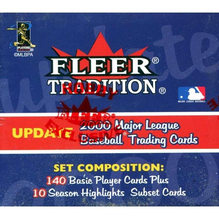 2000 Fleer Tradition Update