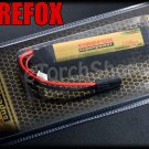 FireFox 11.1V 1100mAh 15C Li Po AEG Airsoft Battery 100mm x 18mm