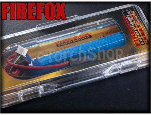 FireFox 11.1V 2400mAh 20C 2 Cell Li Po AEG Battery T 125mm x 20mm