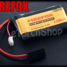 FireFox 7.4V 1300mAh 20C Li Po AEG Airsoft Battery S 66mm x 42mm
