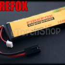 FireFox 7.4V 1600mAh 20C Li Po AEG Airsoft Battery S 103mm x 34mm