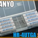 SANYO Eneloop 8 x AAA Rechargeable NiMH Battery