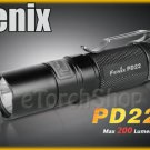 Fenix PD22 S2 W 4 x CR123A Cree LED 200LM Digitally Side Button Flashlight