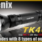 Fenix TK40 Cree MC-E LED 630 LM 2 Mode Flashlight Torch