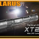 KLARUS XT2A Cree XP-E R5 LED 245 ANSI LM 4 Mo AA Size Tactiacl Flashlight Torch