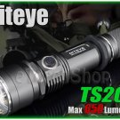 Niteye TS20 Cree XM-L U2 LED 650Lm Side Switch 18650 CR123A Flashlight Torch