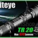 Niteye TR20 Cree XM-L U2 LED 650Lm USB Charge 18650 Battery Flashlight Torch