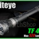 Niteye TF40 Cree XM-L U2 LED 520Lm Magnetic Control 18650 CR123 Flashlight Torch