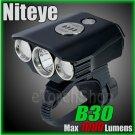 Niteye B30 Cree XM-L U2 LED 1000Lm Remote Control 18650 Pack Bicycle Flashlight