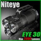 Niteye EYE30 3X Cree XM-L U2 LED 2000Lm Magnetic Control 18650 Flashlight Torch