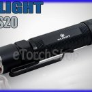 Olight S20 Baton Cree XM-L LED 470 LM 4 Mo CR123A 18650 Flashlight Torch