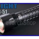 OLIGHT SR51 Cree XM-L LED 900 Lm 3 Mo Flashlight Torch