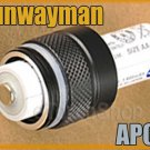 Sunwayman AP05 AA Battery Extender F V11R M11R V10R Ti+ CR123A Flashlight Torch