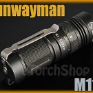 Sunwayman M11R Cree XM-L U2 LED 230LM Magnetic Control CR123A Flashlight Torch