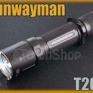 Sunwayman T20C Cree XM-L LED 438Lm 4 Mo Flashlight