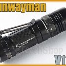 Sunwayman V11R Cree XM-L U2 LED 500LM Magnetic Control CR123A Flashlight Torch