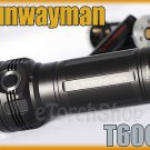 Sunwayman T60CS 3 x Cree XM-L U2 LED 2100LM 6 Mode CR123A 18650 Flashlight Torch