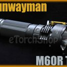 Sunwayman M60R Cree T6 LED Magnetic Control Flashlight