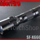 SpiderFire X666 V2 Cree XM-L U2 LED 5Mo 900LM 16340 18650 Flashlight Torch