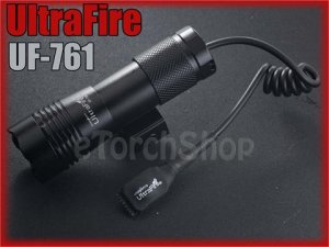 UltraFire UF-761 Q5 180LM Tactical Airsoft Flashlight