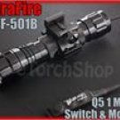 UltraFire WF 501B Cree Q5 LED Pressure Switch 20mm Mount Flashlight Airsoft Set