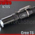 UltraFire V20S Cree XM-L T6 LED 2Mo 700LM AA 14500 Flashlight Torch W Holster