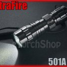 UltraFire 501A Cree U2 LED 5mode 700LM Flashlight Torch W Holster