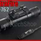 UltraFire UF-762 Cree XM-L U2 900LM 20mm Rail Mount Tactical Airsoft Flashlight