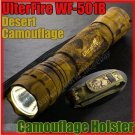 UltraFire 501B Cree LED R5 380L Camouflage Flashlight Y