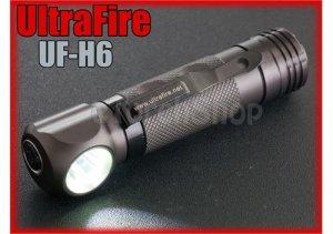Ultrafire UF-H6 Cree XM-L T6 LED 5 mode 750 LM 18650 Headlamp Flashlight Torch