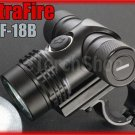 Ultrafire UF-18B Cree XM-L T6 LED 700 LM 18650 Bicycle Mount Flashlight Torch