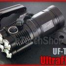 Ultrafire UF-T90 Cree 4x U2 LED 2000LM Magnetic Control 18650 Flashlight Torch