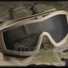Airsoft Tactical Protection Mesh Glasses Goggle Lens DT