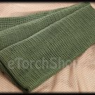 Fish Net Sniper Cover Scarf Veil Face Mesh 34 x 70 inch Green Color