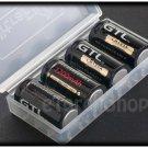 GTL 4 x LR 123A 16340 1200mAh Li ion Rechargeable Battery CR123A