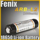 1x Fenix ARB-L2 18650 Li-ion 3.6V 2600mAh Protected Rechargeable Battery