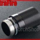 UltraFire CR123A 16340 Extension Tube For WF 503B 504B UF 762 Flashlight Torch