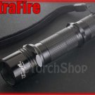 UltraFire WF 503A Flashlight DIY Body With CR123A Extension Tube w/o LED Bulb