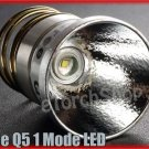 Cree XR-E Q5 1M 250 LM Max White LED Bulb Fit For SureFire SpiderFire UltraFire