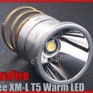 UltraFire Cree XM-L T5 Warm LED 1 Mode 650 Lumens Max Bulb Xenon light 4200K
