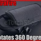 UltraFire Flashlight Holster #401 Rotates 360 degrees 12 positions Belt Clip