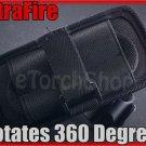 UltraFire Flashlight Holster Free Rotate Belt Clip #402