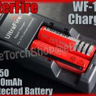 Ultrafire 139 Charger & 2x 18650 3000 Protected Battery
