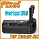 Pixel Vertax BG E13 For Canon EOS 6D Vertical Hand Grip Pack LP-E6 AA Battery