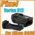 Pixel Vertax MB D12 For Nikon D800 Vertical Hand Grip Pack EN EL 15 AA Battery