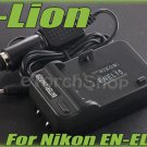 i-Lion EN-EL15 Charger F Nikon Battery Worldwild 100-240V US Plug W Car Adapter