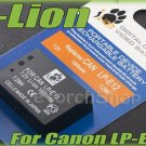 i-Lion LP-E12 1000 mAh 7.2V Battery Japan Cells For Canon EOS M Full Decoded